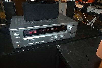 KENWOOD KRF-V5060D powerful amp receiver with quality Kenwood speakers & sub