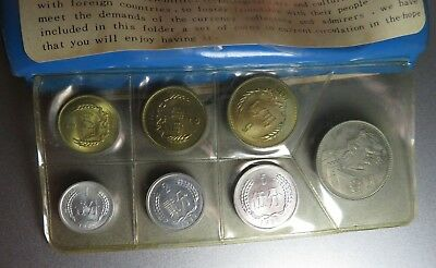 1980 People's Republic of China - Uncirculated Set - 7 Coins