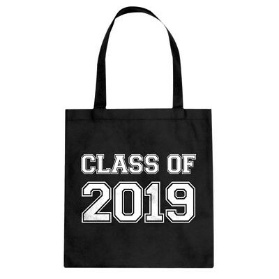 Tote Class of 2019 Canvas Shopping Bag #3560