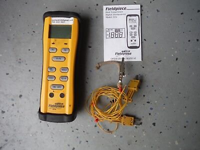 Fieldpiece ST4 Dual Input Digital Thermometer with 2 thermocouples