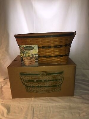 NEW Longaberger 1995 TRADITIONS COLLECTION FAMILY Basket Combo w/ Extras
