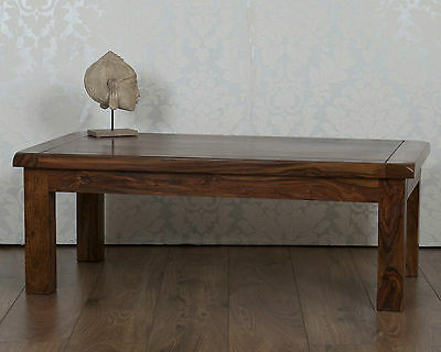 Valencia Coffee Table Dark Solid Sheesham in Rosewood RRP £179!!!