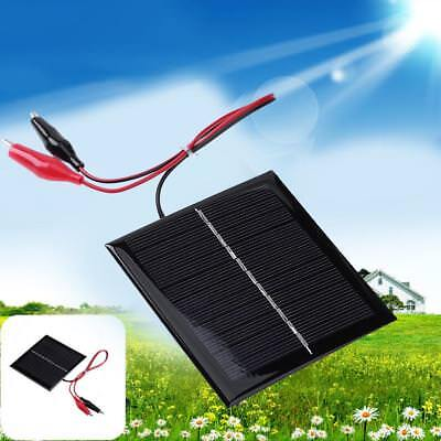 5-12V 0.15-3W Polycrystalline Solar Panel System DIY Battery Cell Charger Module