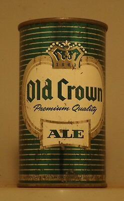 Centlivre Old Crown Ale Flat Top Beer Can - Fort Wayne, IN