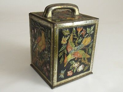 "Antique Very Rare Biscuit Tin ""w.& R. Jacob & Co. Limited Biscuit Manufacturers"""