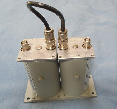 Microwave Filter Company Type 6367 TWO section filter for broadcast and cable