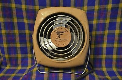 Vtg HEATERETTE Fresh 'ND Aire Heater w/Fan Made by FRESH'ND-AIRE CO. Chicago
