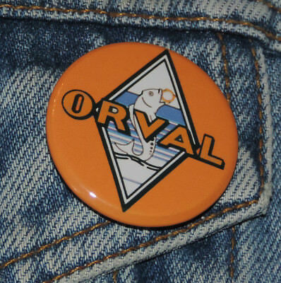 6 Pin Button Badge Ø38mm ORVAL (bière)