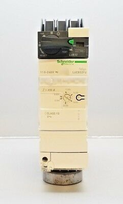 Schneider Lub32 Power Base Motor Starter With Lucb32Fu Telemecanique