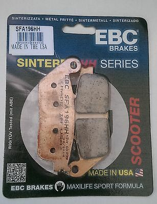 Honda SWT400 / FJS400 (2006 to 2014) EBC Sintered REAR Brake Pads (SFA196HH)