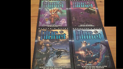 4 x Blue Planet RPG: Moderator's+Player's Guide, Fluid Mechanics, First Colony