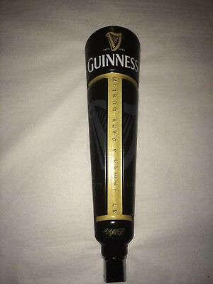 "GUINNESS  Tap Handle-12"" New! Brewed in Dublin-Irish-St Patrick's Day!"