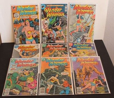 Wonder Woman 238,239,241,242,243,245,258,259 & 260   All Very Fine Or Better