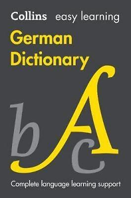NEW Collins Easy Learning German Dictionary [Eighth Edition] By Collins Dictiona