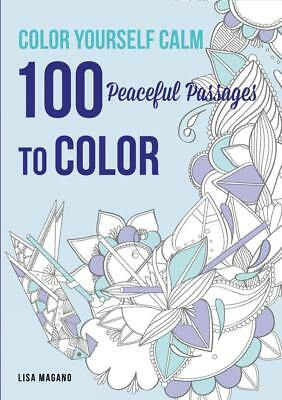 NEW Color Yourself Calm By Magano Paperback Free Shipping