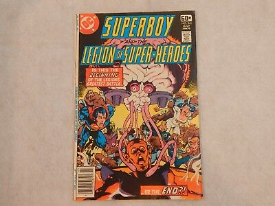 Superboy And The Legion Of Super-Heroes #241 DC 1978 VG