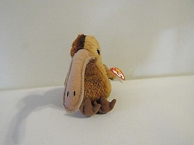 "TY Beanie Babies Collection Retired ""Beak"" with Tag Errors (BB#46)"