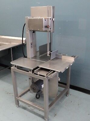 Hobart 6614 Commercial Meat Butcher Band Saw Deer Beef Pork Chic--  VERY CLEAN