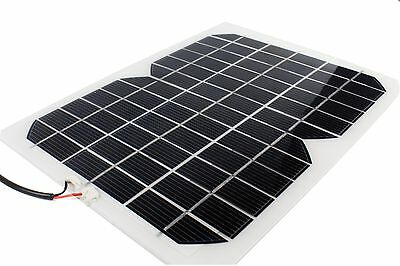 Portable Solar Panel Battery Charger 5W 12V for Car Truck Yacht RV Backup