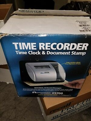 Acroprint Atomic Time Recorder, Time Stamp, Number Machine, Time Totalizer-Es700