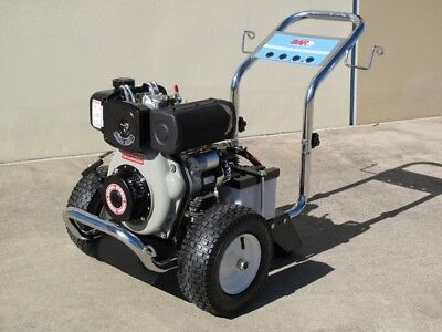 BAR 2048-YE Diesel Cold Water Pressure Washer