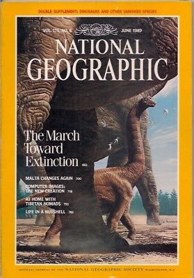 national geographic-JUNE 1989-EXTINCTION.