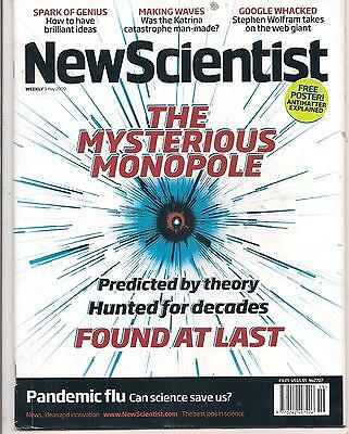 NewScientist-9 may 2009-THE MYSTERIOUS MONOPOLE.