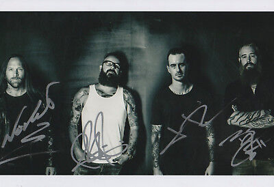 In Flames Autogramme full signed 20x30 cm Bild