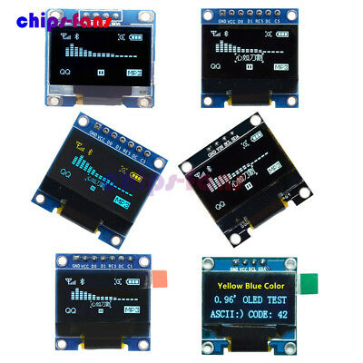 "0.96"" I2C IIC SPI Serial 128X64 OLED LCD LED Display Module"
