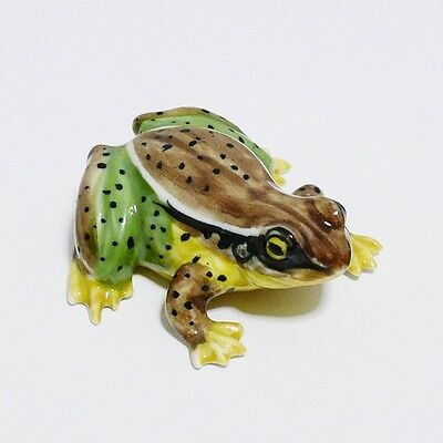 Frog Toad Ceramic Animal Figurine Miniature Home Decorate Collectible Gift 1