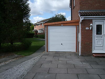 """Concrete Garages The ' Lean To' Apex 8 ' 3"""" Width - Yorkshire Prices"""