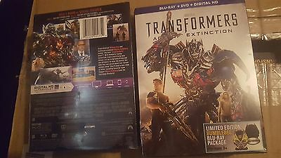 Transformers 4 AGE OF EXTINCTION ESCLUSIVO Bumblebee Blu-Ray + DVD PACCO