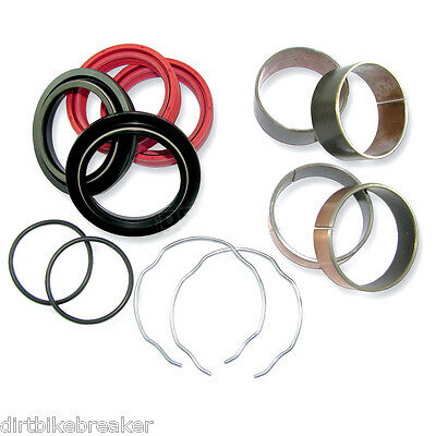 Yamaha YZF 250 450 (2004 Only) 48mm Vordergabel Bush & Dichtung Service Kit