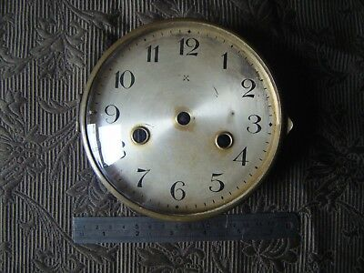 Vintage HAC Mantel Clock Glass Face & Bezel