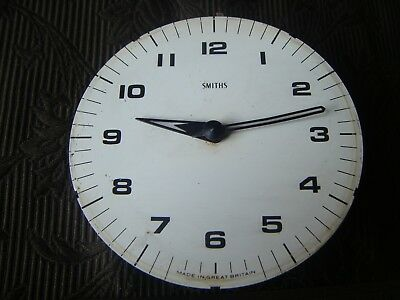 Smiths 30 hour  Clock Face and Movement