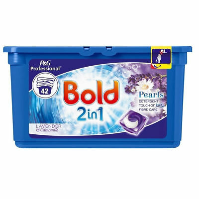 Bold 2 In1 Lavender And Camomile Washing Capsules 3 x 42W {126 Capsules}