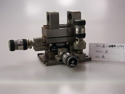 Laser / Optic Equipment NEWPORT UltraAlign 561D w/ 561-FCA & 561-OBJ & 3- DS4F