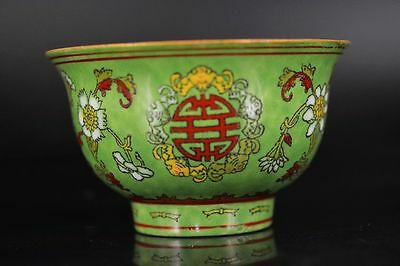 Artistic Antique Chinese Porcelain Hand Painting *Flower* Bowl