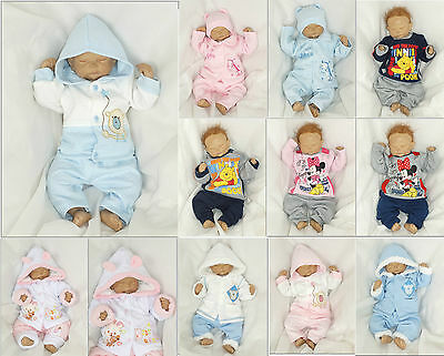 2 Parts 3tlg Set Baby Starterset First Outfit 50 56 62 68 74 80 86 englandmode