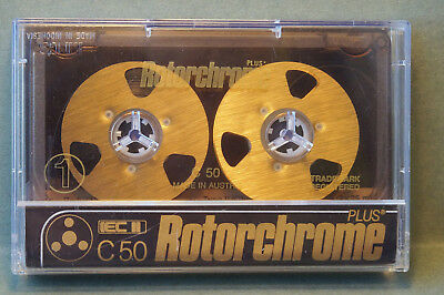 1x ROTORCHROM C50 REEL TO REEL Cassette Tape + SEHR GUTER ZUSTAND +