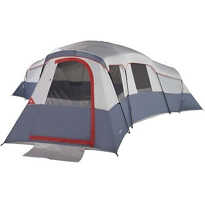 Cabin Tents Ozark Trail 20 Person Camping Family Tent Up To 4 Rooms NEW