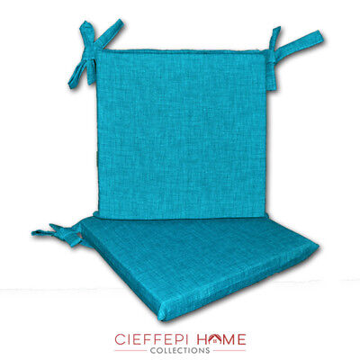 Set 2 Cuscini per sedia sedie MULTICOLOR - Cieffepi Home Collections