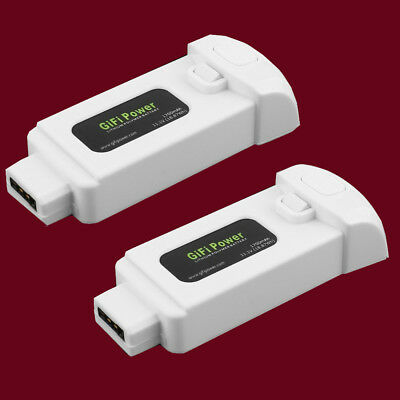 2 x 1700mAh For Yuneec Breeze Battery 11.1V 3S 18.87Wh LiPo Battery