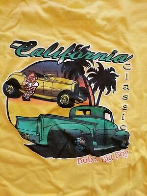 bobs big boy t shirt California Burger restaurant classics Americana collectible