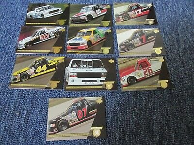 10 Trading Cards *Truckin  Ford* Musgrave,Wallace,Irvan,....