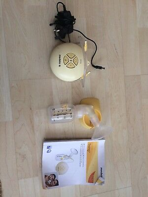 Medela Swing Electric Breast Pump - single, used but with all parts and bag