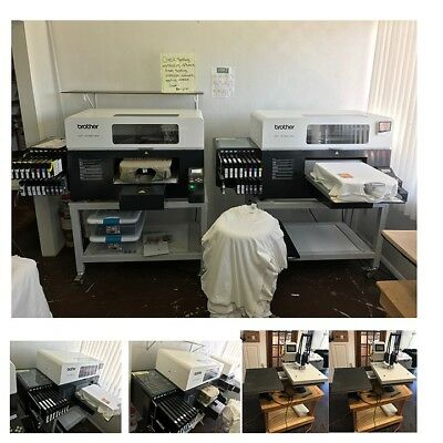 Brother GT 3 Series - 381 DTG Printer + Platens + Stand