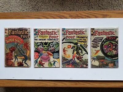 Fantastic Four Early and Key Issues 12C