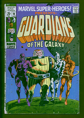 Marvel Super-Heroes 18 Guardians of the Galaxy.  Best guess 3.0 range.  Copy B