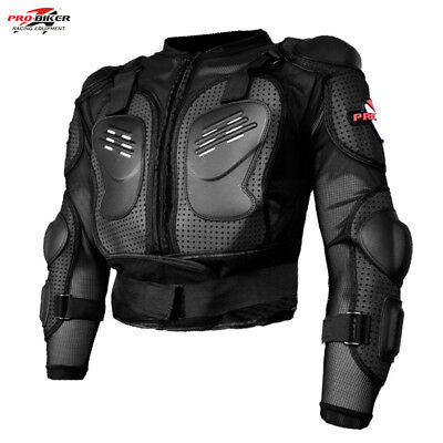 Motocross Body Armour Motorcycle Spine Elbow Shoulder Protection Guard Jacket